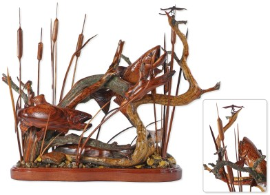 """""""Feeding in the Reeds"""" 