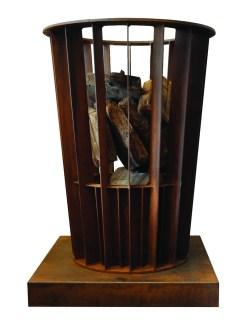 Oversized Fire Basket by Wrj Designs LTD.