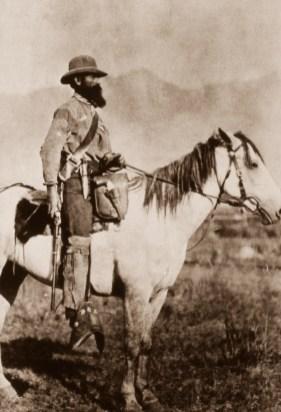 Nathaniel P. Langford of the 1870 Washburn, Langford, Doane expedition. NPS photos