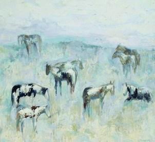 """Madison Horses #3"" | Oil | 72"" x 78"""