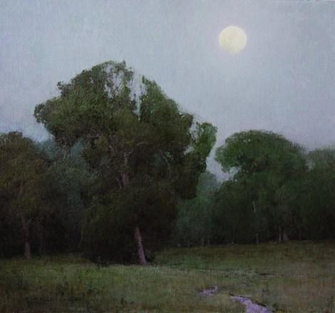 """""""Prairie Chapel Evening""""   Oil on Linen   24"""" x 26"""""""