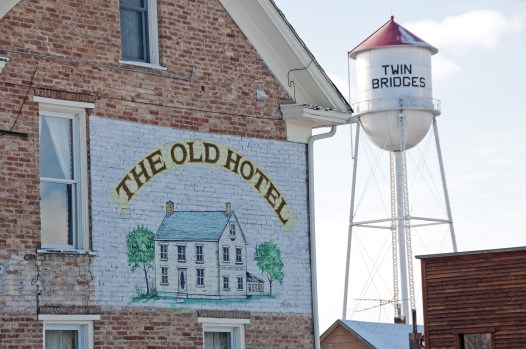 Built in 1879, The Old Hotel was originally the Twin Bridges Hotel; the classic three-story building is a timeless landmark in the western Montana town.