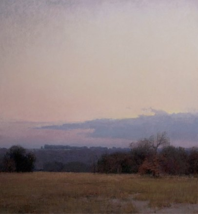 """Winter's Dawn"" | Oil on Linen | 26"" x 24"""