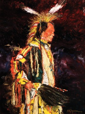 "The Sioux | Oil | 24"" x 18"""