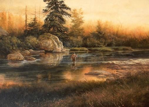 """Mystic River"" | oil on board | 16 x 22 inches"
