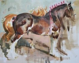 """Devotion"" | Oil on Canvas | 48"" x 60"""