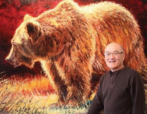 "Day Of The Grizzly | Oil | 48"" x 72"" 