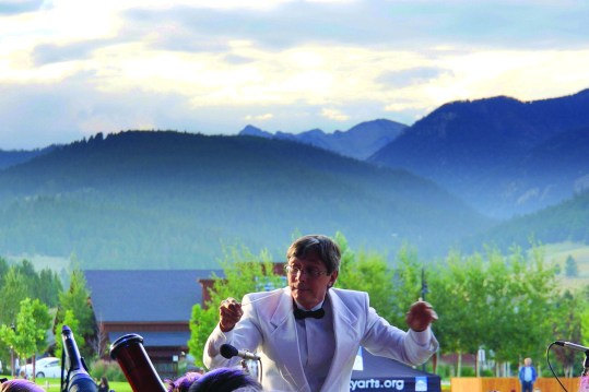 Beethoven Meets Mozart in the mountains of Big Sky