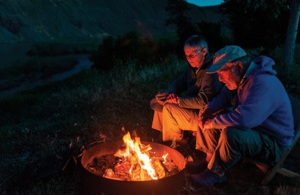 Vogt and Greene's seasonal gig on the Missouri River allows for daily doses of river time and plenty of opportunity for contemplation, two important ways this couple count themselves wealthy.