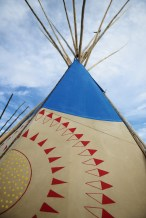 """The Fair has been called the """"teepee capital of the world."""""""