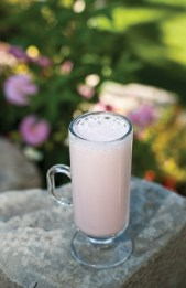 A delicate rose lassi is the perfect balance to a savory meal.