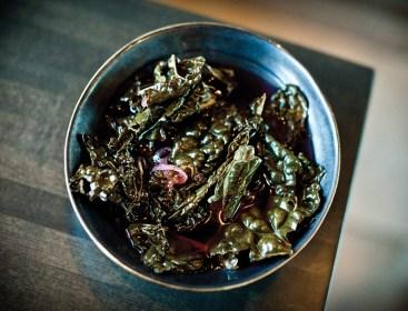 Pickled Kale