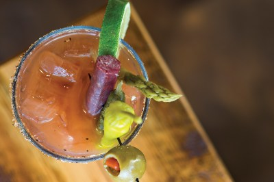 A house specialty Bloody Mary made with Cold Spring Vodka.