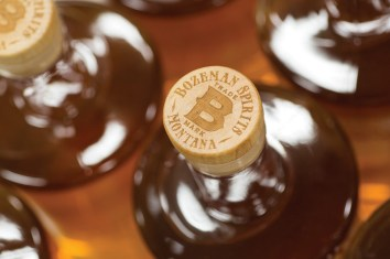 Montana 1889 Whiskey uses three grains — barley, rye and corn — all purchased from a mill in Conrad, Montana.