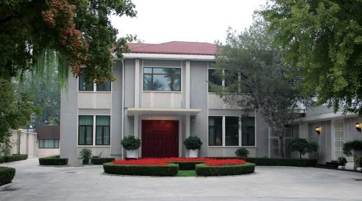 The private U.S. Ambassador's residence in Bejing.