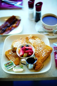 Like any good diner, Bernie's serves the basics, French toast, from the best location in Billings.