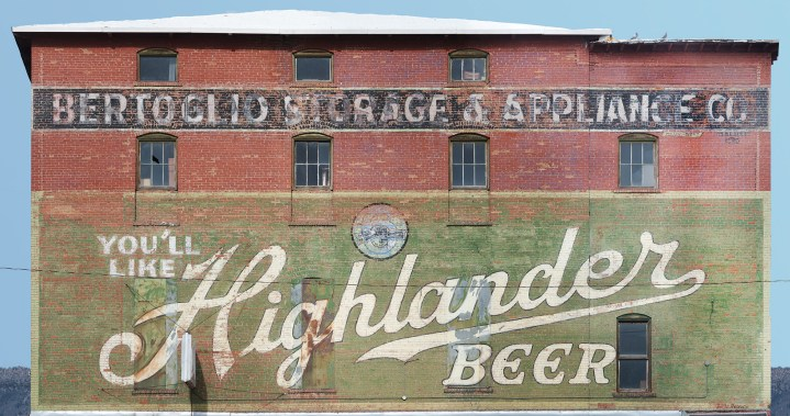 Highlander Beer   Butte