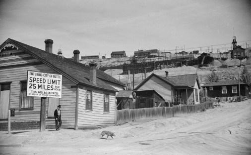 Gambling house, Butte, 1939