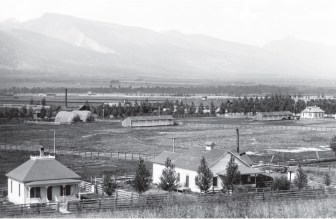 "Daly arrived in the Bitteroot Valley in 1864 in search of timber. He was equally impressed by the wild grasses ""that grew taller than a man's head"" and ""the lightness of atmosphere."" In 1889 Daly told a turf reporter, ""[I]n the Bitteroot valley, the ideal conditions for successful horse breeding are found."""