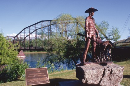 Interesting side trips near the Bears Paw Mountains include historic Fort Benton, the head of 19th century navigation on the Missouri River.