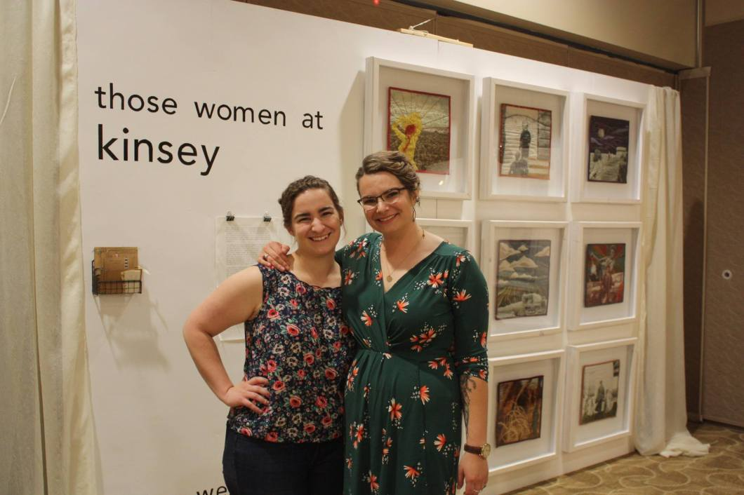 Photographer Kelsey Weyerbacher and sister