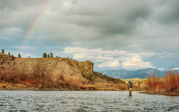 The Missouri is a fly fisher's pot of gold. Photo by Ken Takata