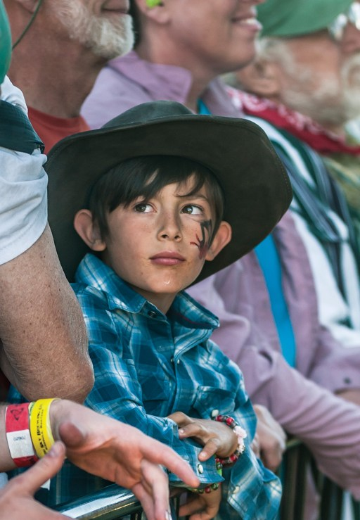 Locals mingle with festival revelers from all over Montana, adding to the event's family atmosphere.