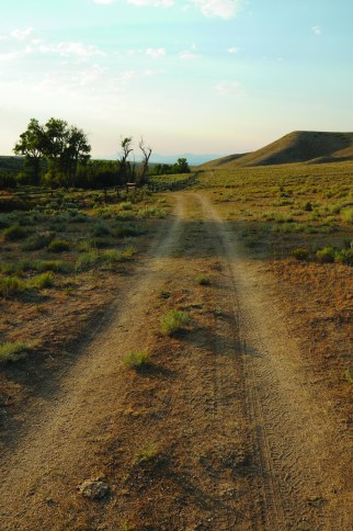 A maze of primitive roads — some following pioneer trails — provide access to the isolated Sweetwater country. Photo by Jeff Erickson