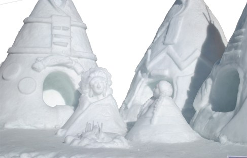 Parades and snow sculptures are just part of the fun during McCall's annual Winter Carnival.   Courtesy McCall Chamber