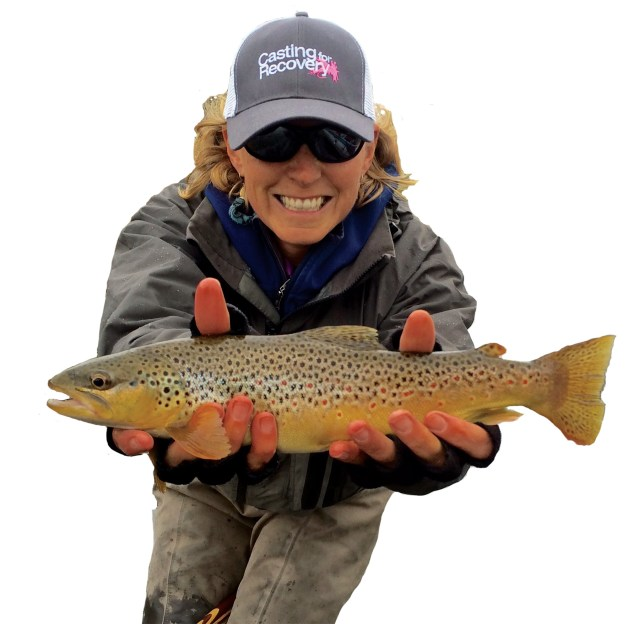 Casting for Recovery focuses on breast cancer education and support through the therapeutic sport of fly fishing.