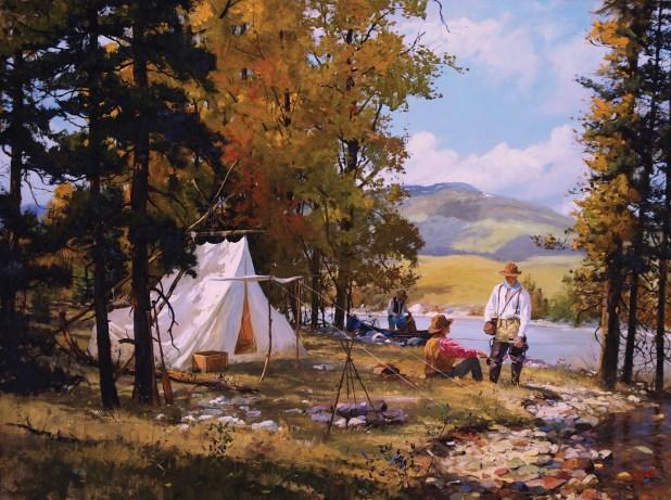 "Brett James Smith | ""Camp in Fall"""