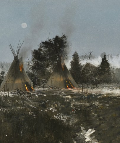"Michael Coleman | ""Teepees at Night"""