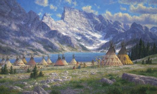 "Randy Van Beek | ""Tukudeka, Shoshone Hunters of the Wind River Range"""