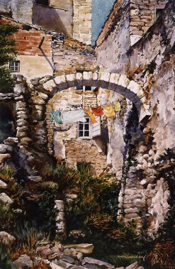 """Leftover Roman Arch"" 