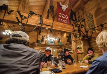 The 320 Ranch is the trail's perfect mid-way point for food, beverages and a comfortable overnight.