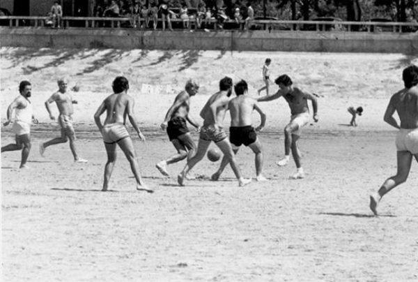 Futebol praia