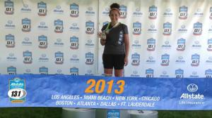 Allstate 13.1.  My 2nd half.  It was a long road getting to this one.