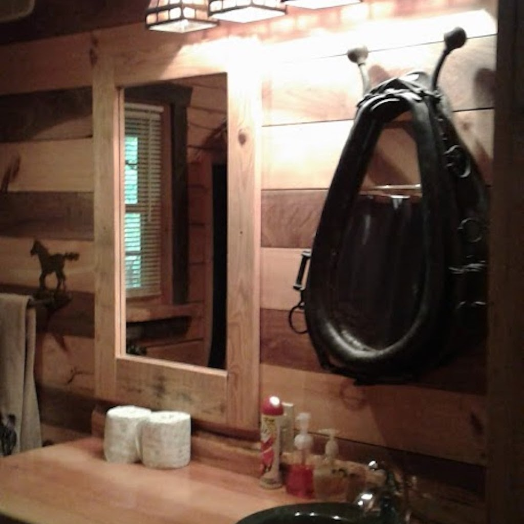 """""""Horse"""" bath complete with supplies"""