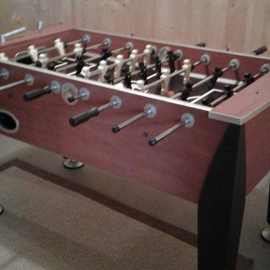 Downstairs Game—Foosball