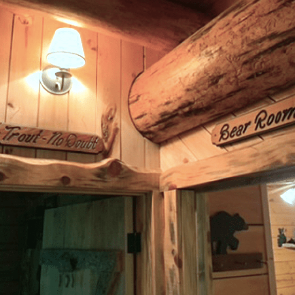 """Meeting of the """"Bear"""" & """"Trout"""" rooms"""