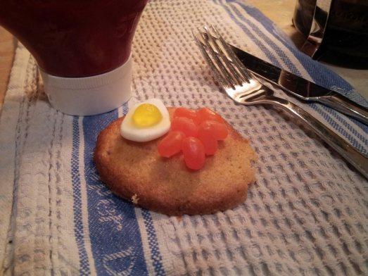 full english breakfast bacon cookies