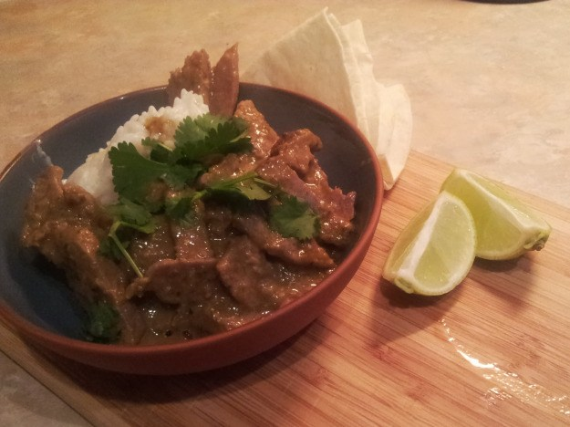 brisket beef rendang thai curry