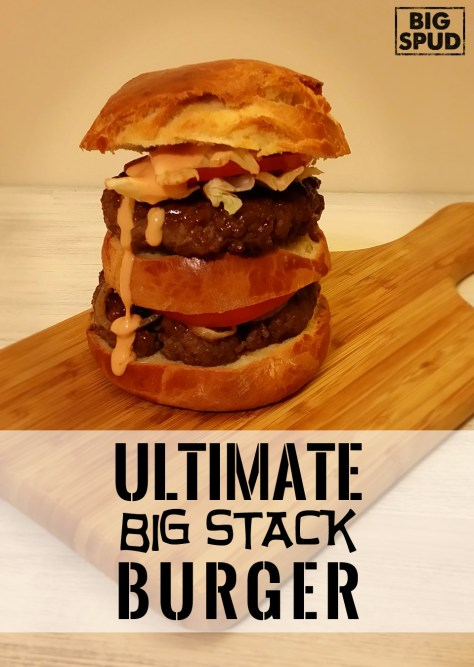 ultimate burger stack