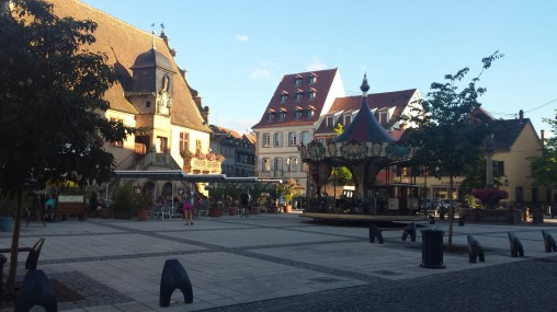 The pretty middle of Molsheim.