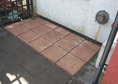 Patio and Bedding area – BigSul Garden Services