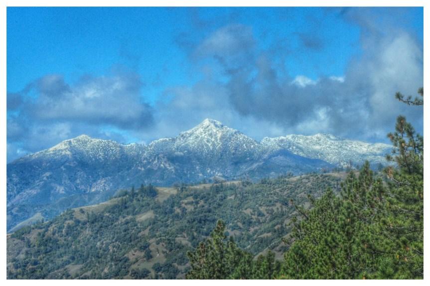 Big Sur Snow Photos, 1/31/16