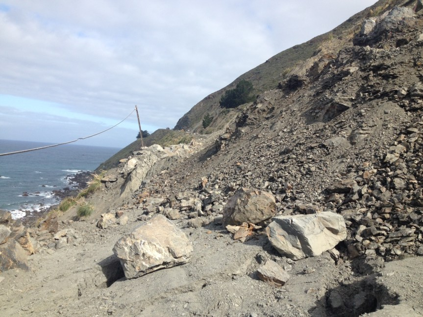Highway One remains closed until further notice, 5/16/17