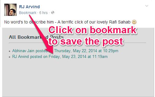 Facebook-Bookmark-Extensions
