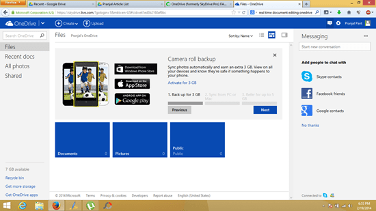 Microsoft SkyDrive is changed to OneDrive (2)