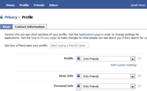 Stay Safe on Facebook (2)